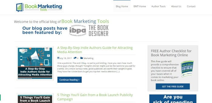 Book Marketing Tools