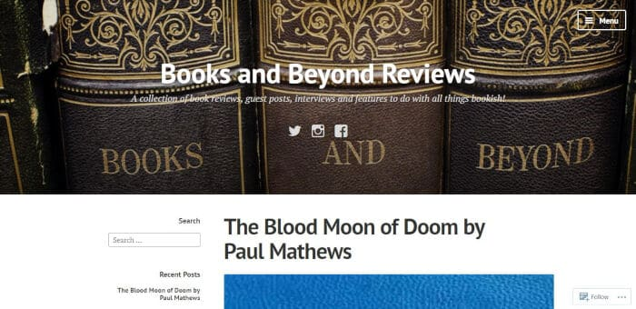 Books and Beyond Reviews