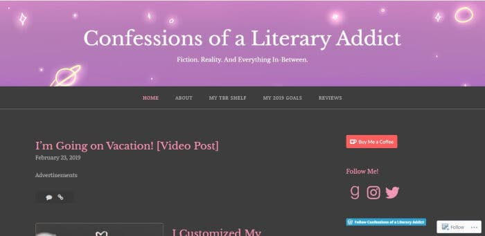 Confessions of a Literary Addict