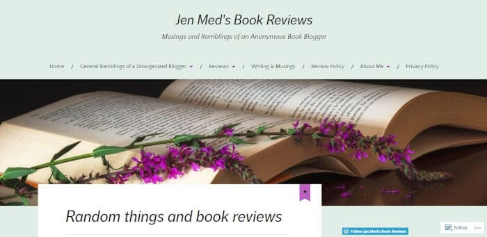 Jen Meds Book Reviews