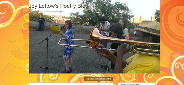 Joy Leftows Poetry Blog