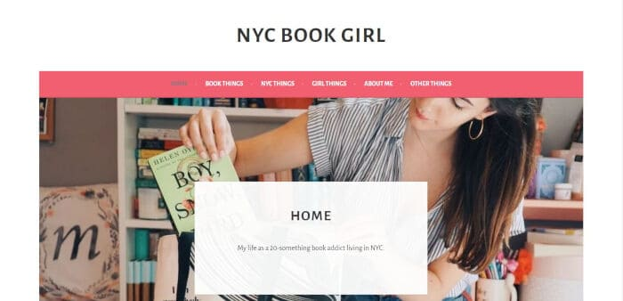 NYC Book Girl