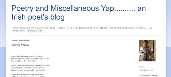 Poetry and Miscellaneous Yap