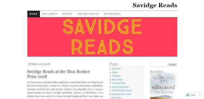 Savidge Reads