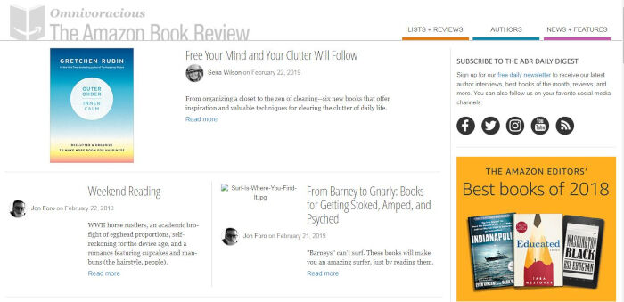 The Amazon Book Review