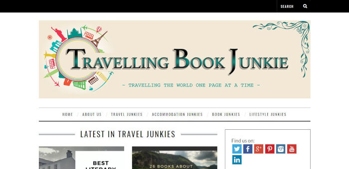 Traveling Book Junkie