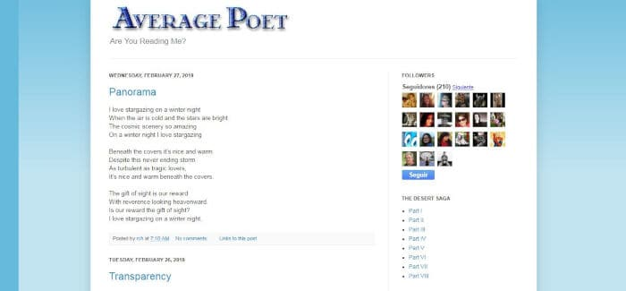 Average Poet