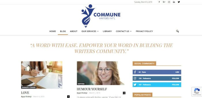 Commune Writers