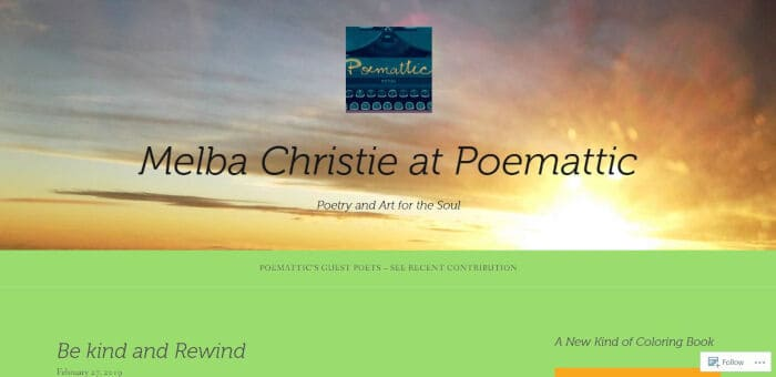 Melba Christie at Poemattic