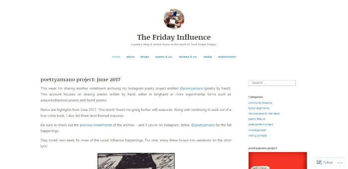 The Friday Influence
