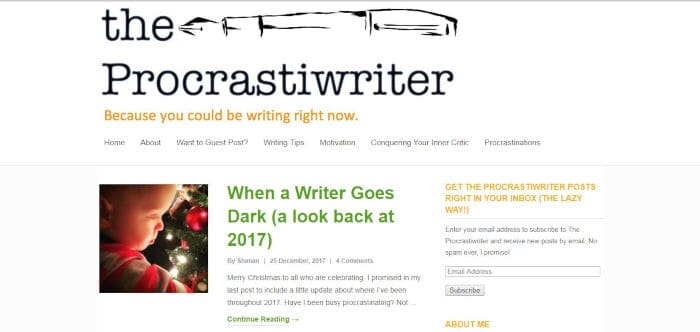 The Procastiwriter