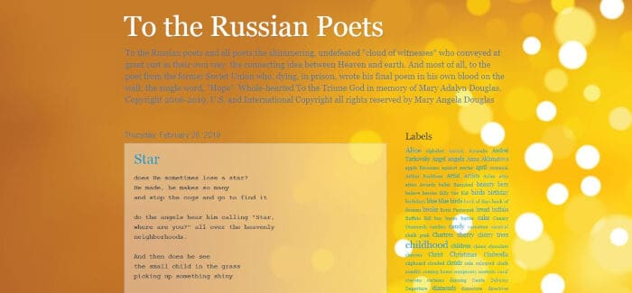 To the Russian Poets